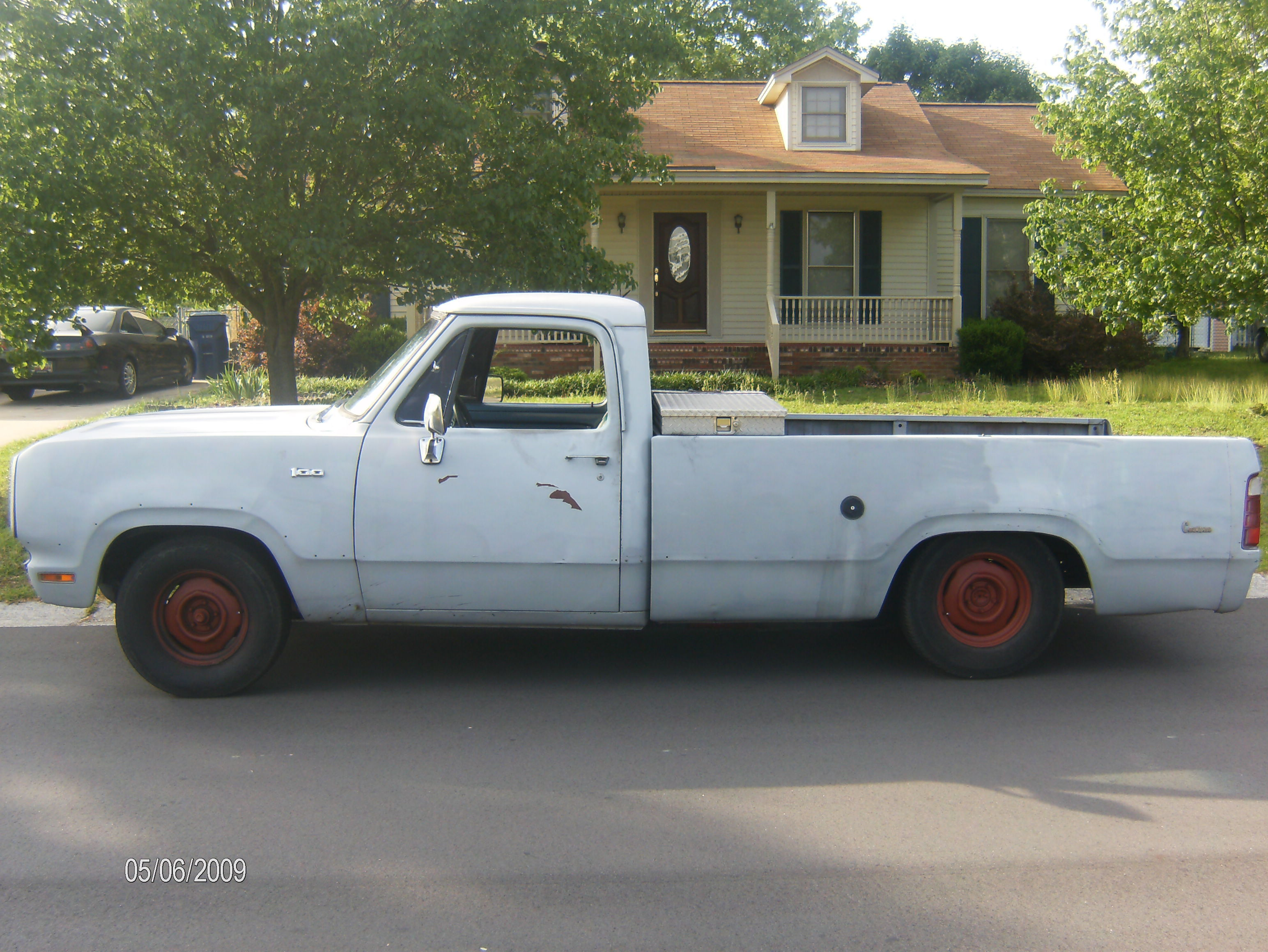 Another OlBlueDodge 1974 Dodge D150 Club Cab post... - 7495336