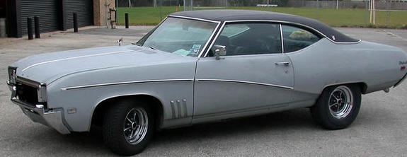 Large on 1969 buick skylark gs 350