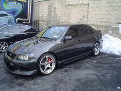 Laquws 2001 Lexus IS