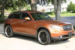 FX45LCs 2003 Infiniti FX