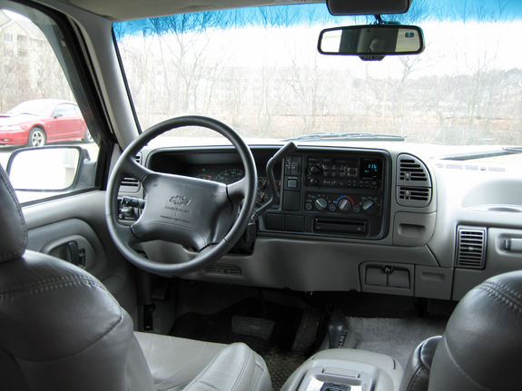 Large on 1997 Chevy Tahoe