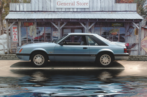 Art51059 1985 Ford Mustang