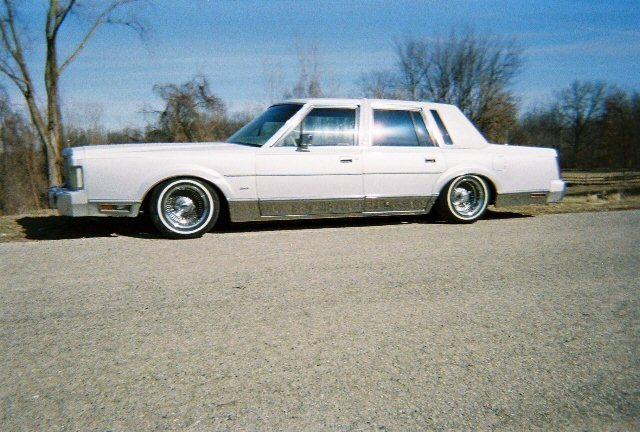 Pimpdmylincoln 1985 Lincoln Town Car Specs Photos