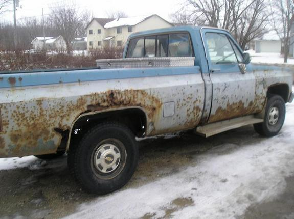 Another MrDirrty 1984 Chevrolet Silverado 1500 Regular Cab post... - 7514439