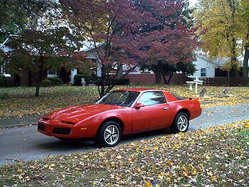 zer0tolerance 1984 Pontiac Firebird