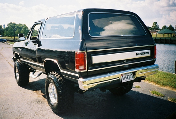 Bman13 1989 Dodge Ramcharger Specs Photos Modification