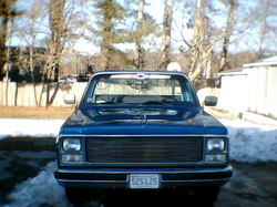 Blue80c10s 1980 Chevrolet C/K Pick-Up
