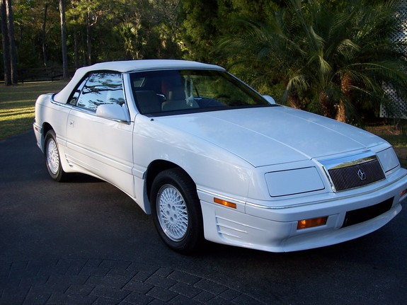 Ladylace S 1990 Chrysler Lebaron Gt Convertible 2d In