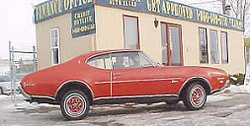 Downleft 1968 Oldsmobile Cutlass Supreme