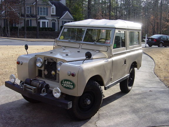 wardrw 1968 Land Rover Defender 90