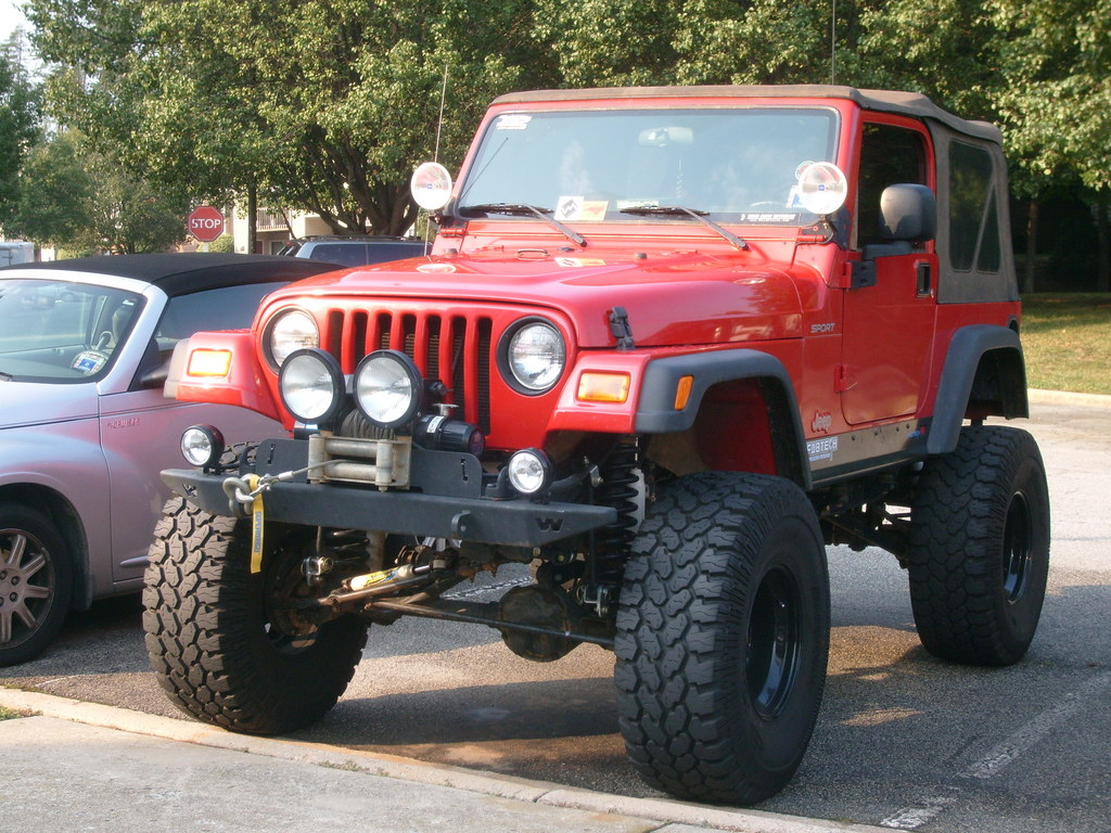 lilredwrangler04 2004 jeep tj specs, photos, modification info at