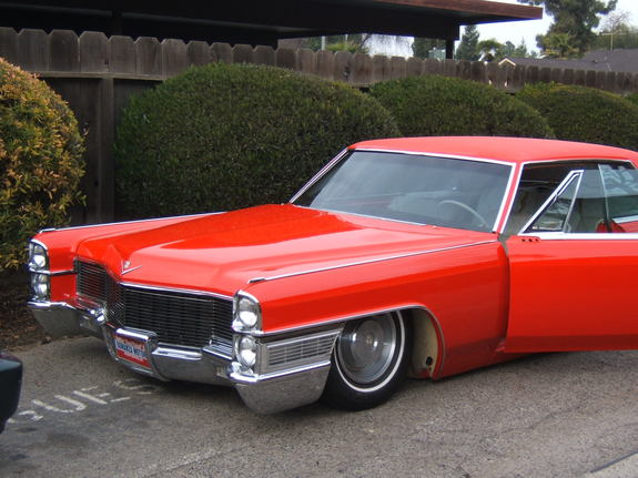 dropped65cadi 1965 Cadillac DeVille Specs, Photos, Modification Info