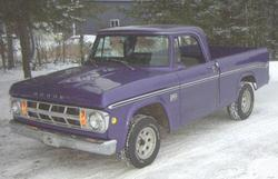 Chota 1972 Dodge D150 Club Cab