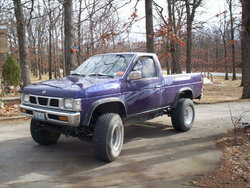 78ford4x4s 1995 Nissan Regular Cab