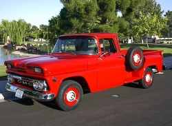 throckmorton 1960 GMC 1000 Series