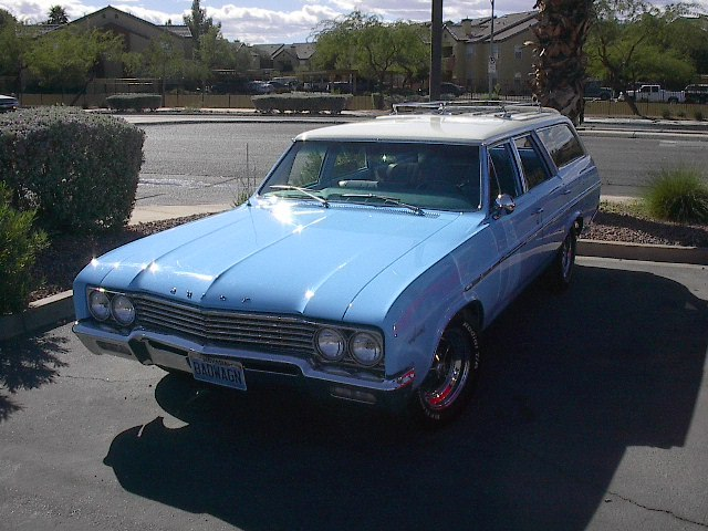 throckmorton 1965 Buick Sport Wagon 7612195