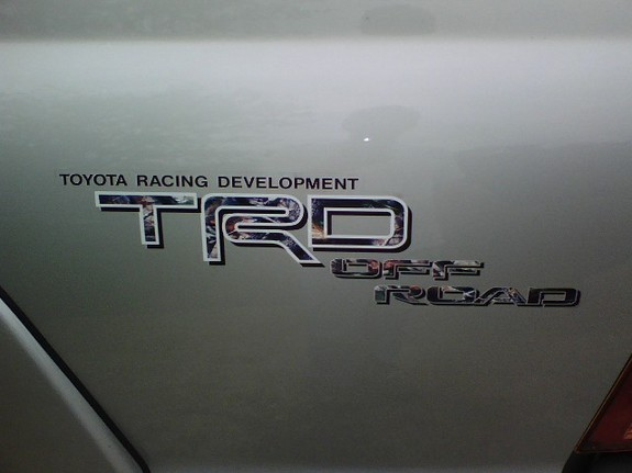 2006 Toyota Tacoma Trd Decals