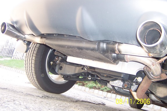 2004 nissan murano exhaust system