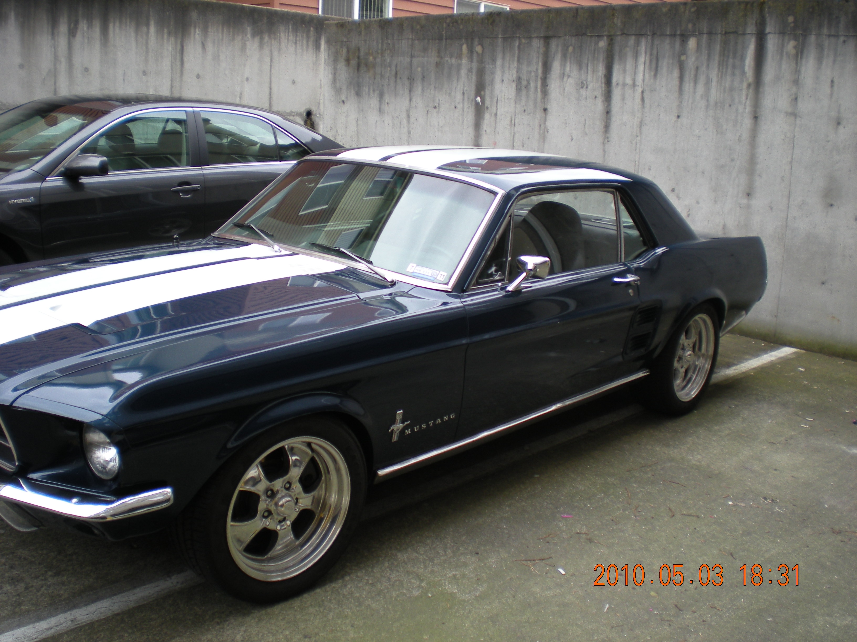 Another black 67stang 1967 ford mustang post 7642371