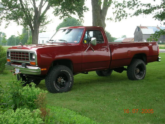 1987 Dodge Ram W250 4x4 For Sale Autos Post