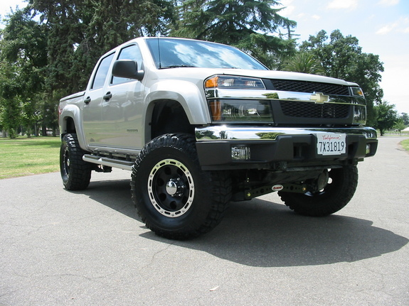 dirtydawg z71 39 s 2005 chevrolet colorado crew cab ls pickup 4d 5 1 4 ft in livermore ca. Black Bedroom Furniture Sets. Home Design Ideas