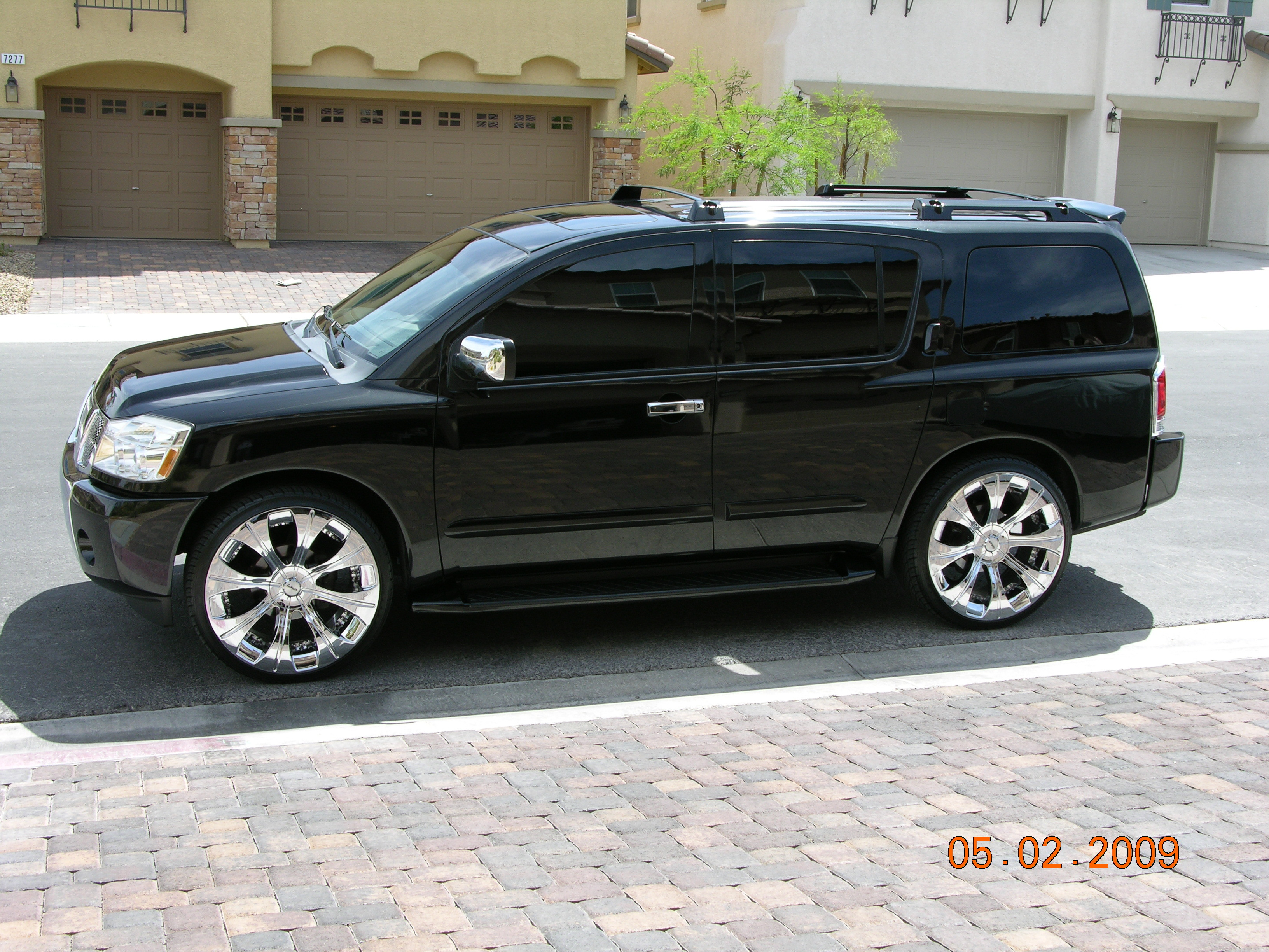 sirvegas 2005 nissan pathfinder armada specs photos modification info at cardomain. Black Bedroom Furniture Sets. Home Design Ideas
