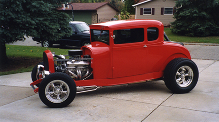 hotrodgary's 1929 Ford Coupe