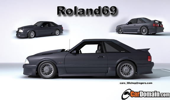 Roland69 1988 Ford Mustang 7668204