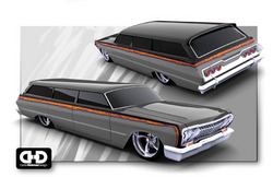 bagginwaggons 1963 Chevrolet Impala