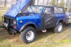 98hspringers 1977 International Scout II