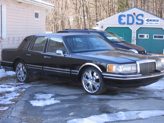 costomed 1993 lincoln town car specs photos modification info at cardomain. Black Bedroom Furniture Sets. Home Design Ideas