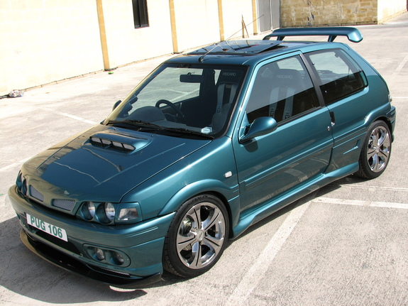 justin106xt 1995 peugeot 106 specs photos modification info at cardomain. Black Bedroom Furniture Sets. Home Design Ideas