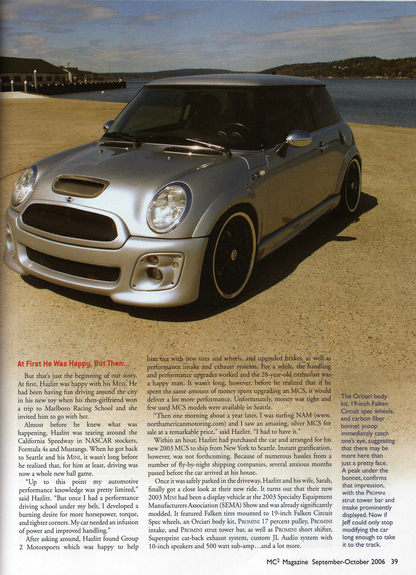 Another MINITOR 2003 MINI Cooper post... - 7686979
