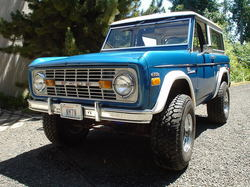 CoolBlue71 1971 Ford Bronco