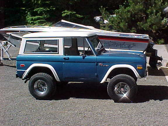 CoolBlue71 1971 Ford Bronco Specs, Photos, Modification