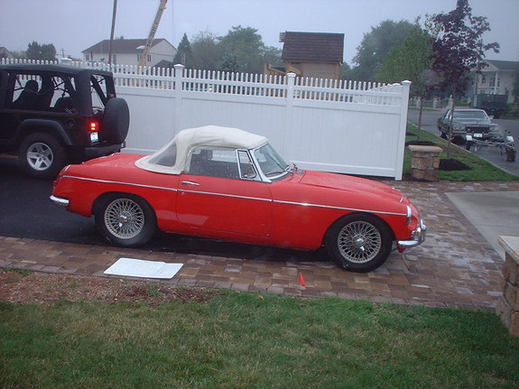 dr-doug 1969 MG MGC 7734712