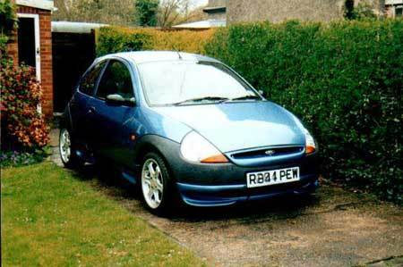 Another Static  Ford Ka Post