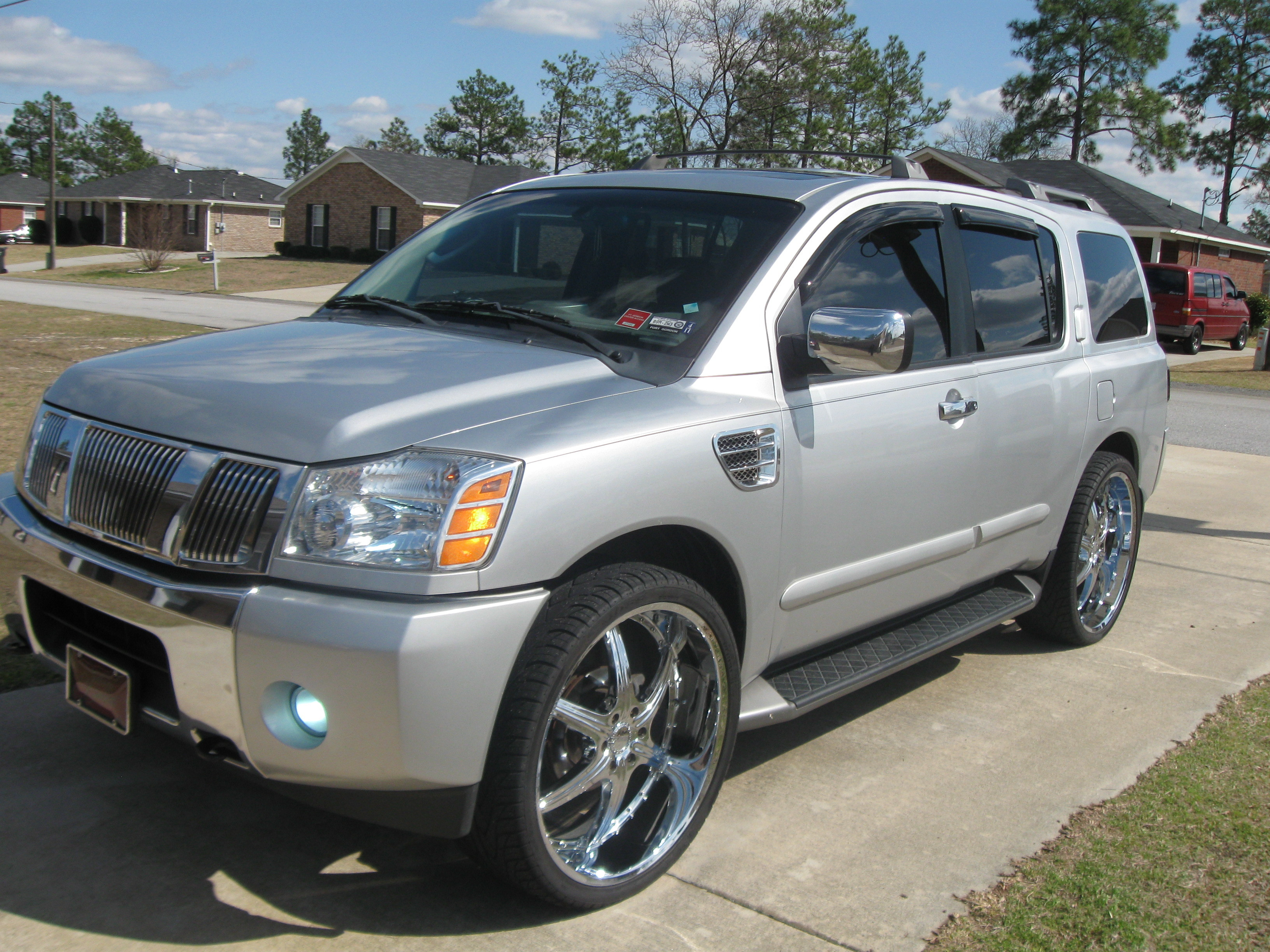 Kdee1 2004 nissan pathfinder armada specs photos modification kdee1 2004 nissan pathfinder armada vanachro Images