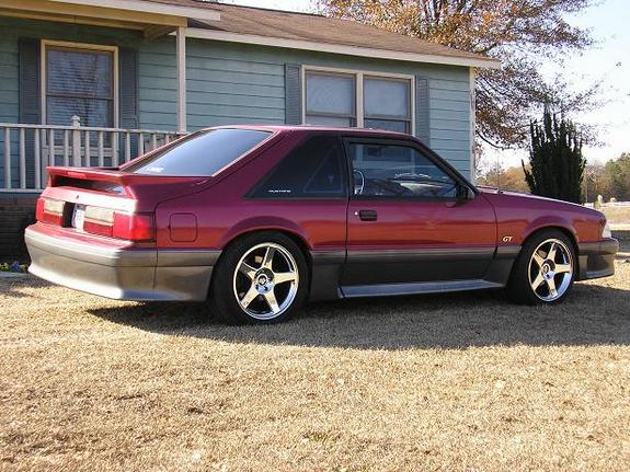 ridethe93gt 1993 ford mustang specs photos modification info at cardomain. Black Bedroom Furniture Sets. Home Design Ideas