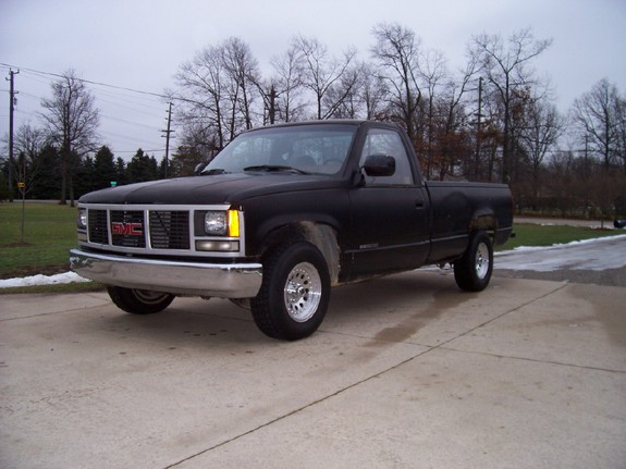 motorcityman13 1989 gmc sierra 1500 regular cab specs photos modification info at cardomain. Black Bedroom Furniture Sets. Home Design Ideas