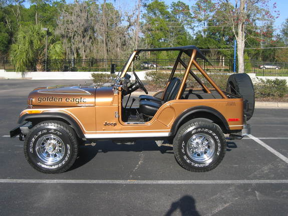 1978 Jeep Golden Eagle Car Interior Design