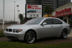 rovver 2002 BMW 7 Series