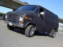 smashbox 1977 Chevrolet Van