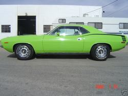 car_manics 1970 Plymouth Barracuda