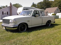 droppedf100 1996 Ford F150 Regular Cab