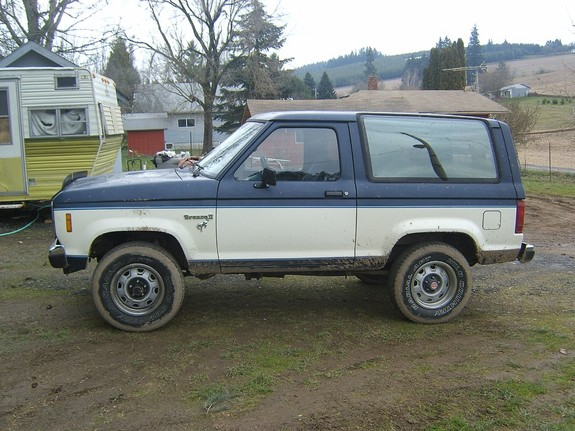 1986 ford bronco ii weight. Black Bedroom Furniture Sets. Home Design Ideas