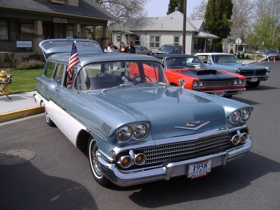 Another 58yeoman 1958 Chevrolet Bel Air post... - 7861861