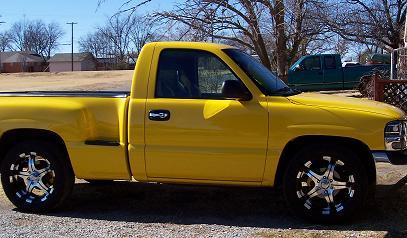 xxyellowblurrxx 2001 gmc sierra 1500 regular cab specs photos modification info at cardomain. Black Bedroom Furniture Sets. Home Design Ideas