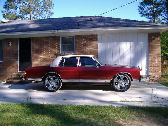 Another 23inchcrawla 1986 Chevrolet Caprice post... - 7911693