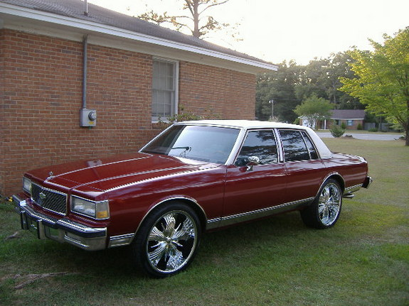Another 23inchcrawla 1986 Chevrolet Caprice post... - 7911695